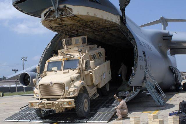 US Army Deploys MRAP Vehicles to Korea