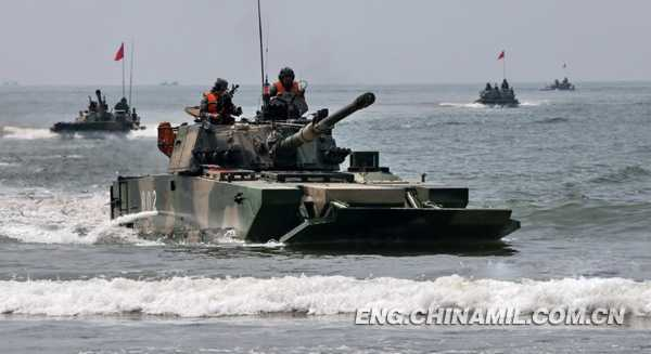 China Touts Amphibious Capabilities