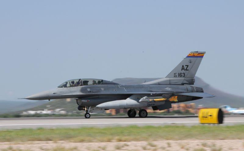 Iraqi Air Force F-16 Training Takes Of...