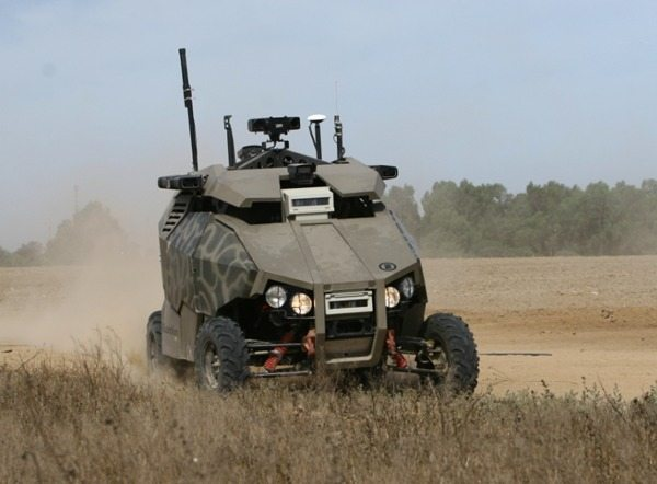 Israel Touts Unmanned Ground Vehicle O...
