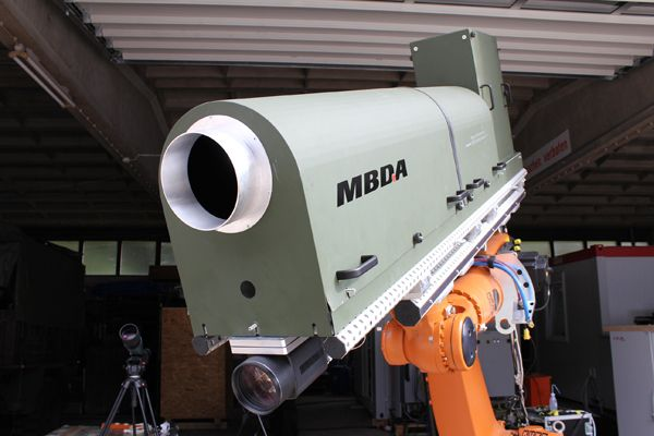 MBDA Successfully Tests 40 kW High-Ene...