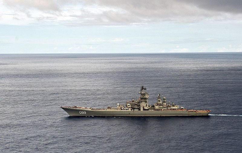 Russian Warship Tests Missile Defense ...