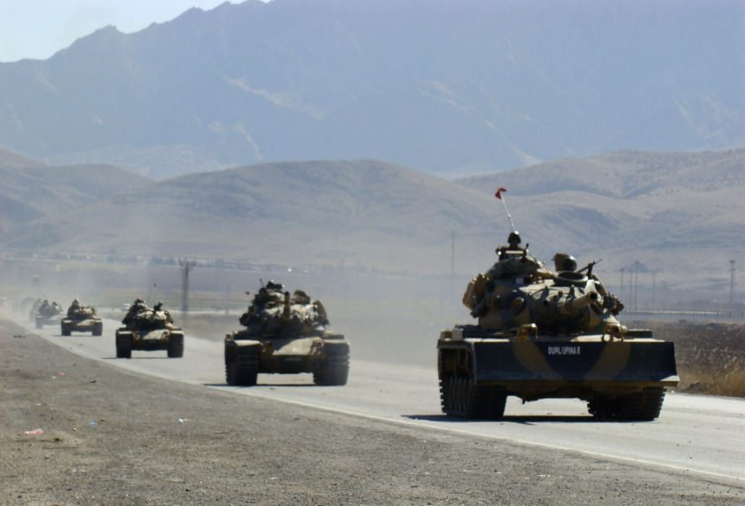 30 dead as Kurdish rebels clash with T...