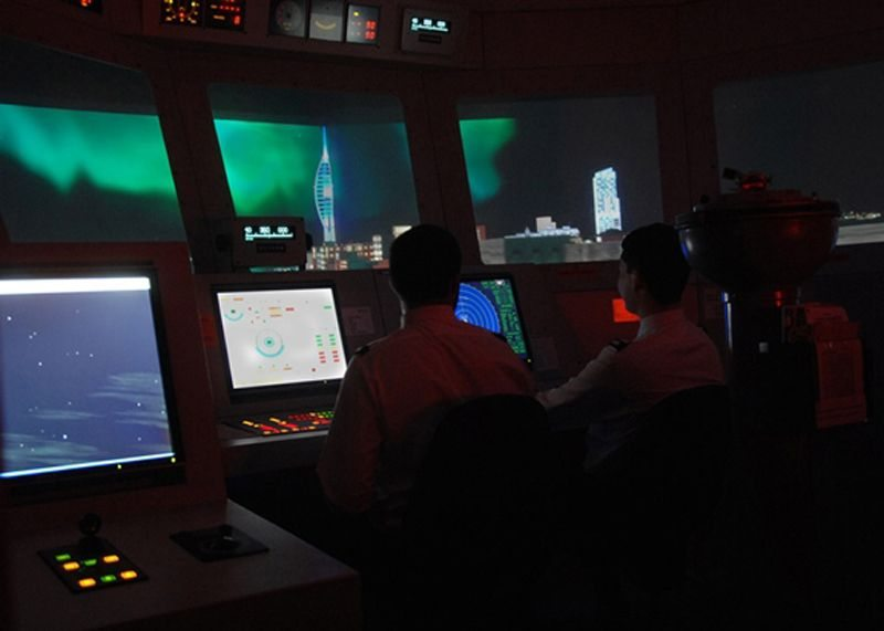 Upgraded Ship Simulator Aids Royal Navy Training