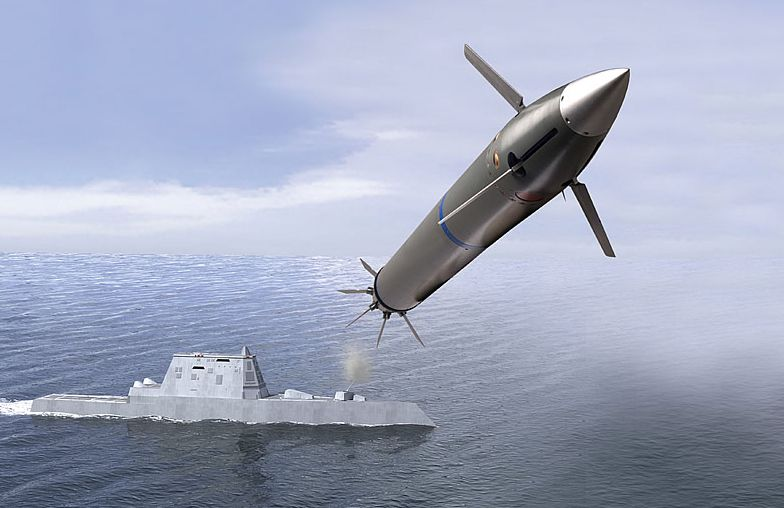 Navy Successfully Tests Long Range Att...