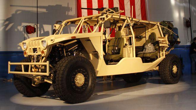 Northrop Unveils MAV-L Ground Mobility...