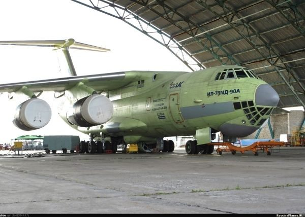 Russian Military to Receive First Il-476 Transport Plane in 2014