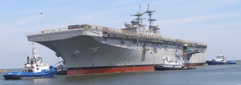 US Navy Amphibious Assault Ship LHA 6