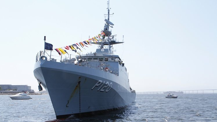 BAE Delivers Second Amazonas OPV to Br...