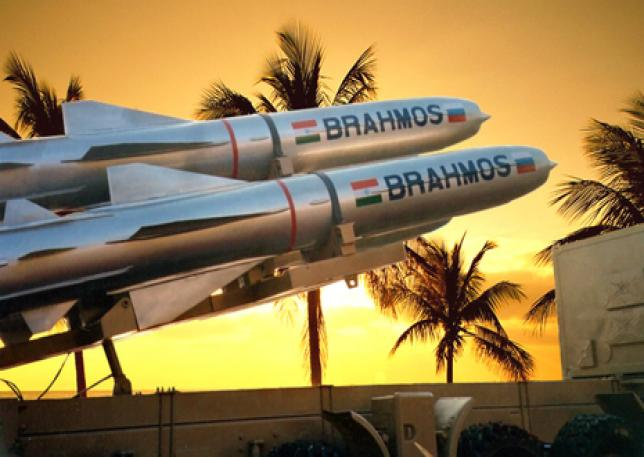 India Tests Sea-Based Brahmos Missile