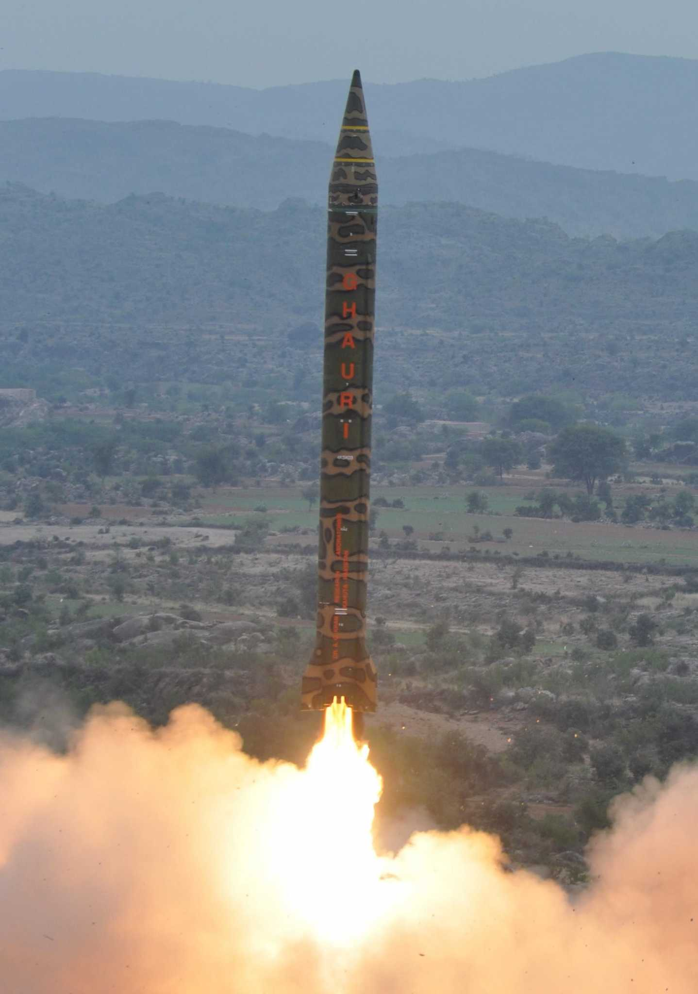 Pakistan Medium Range Ballistic Missile Hatf V (Ghauri)