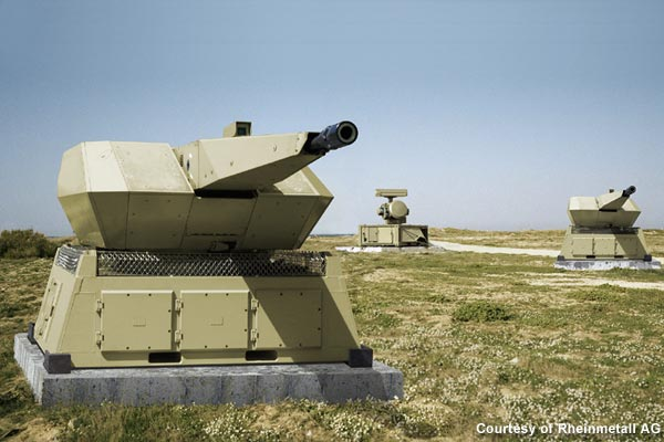 Rheinmetall Delivers MANTIS Air Defenc...