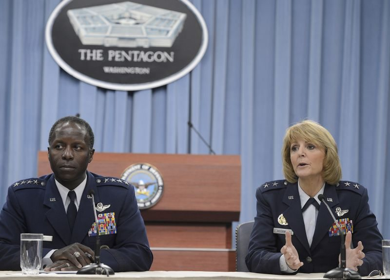 Airforce leaders brief BMT sexual misconduct investigation findings