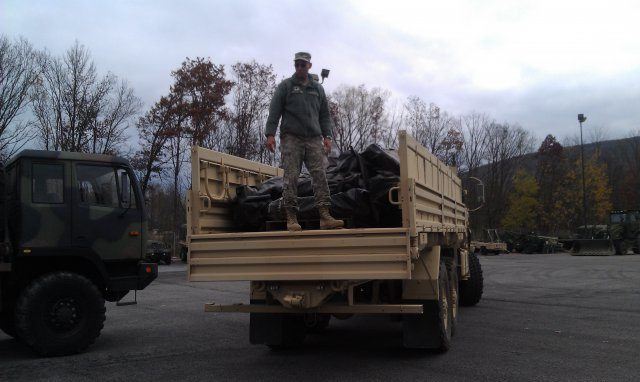 Army Reserve assets activated in suppo...