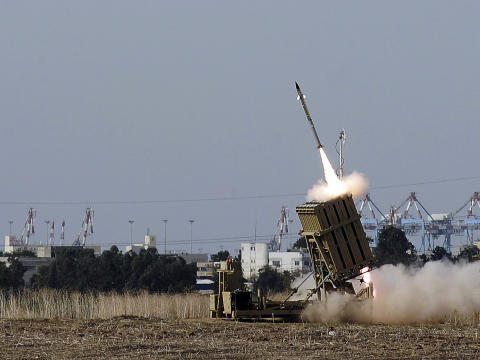 IAI Touts Performance of Iron Dome Rad...