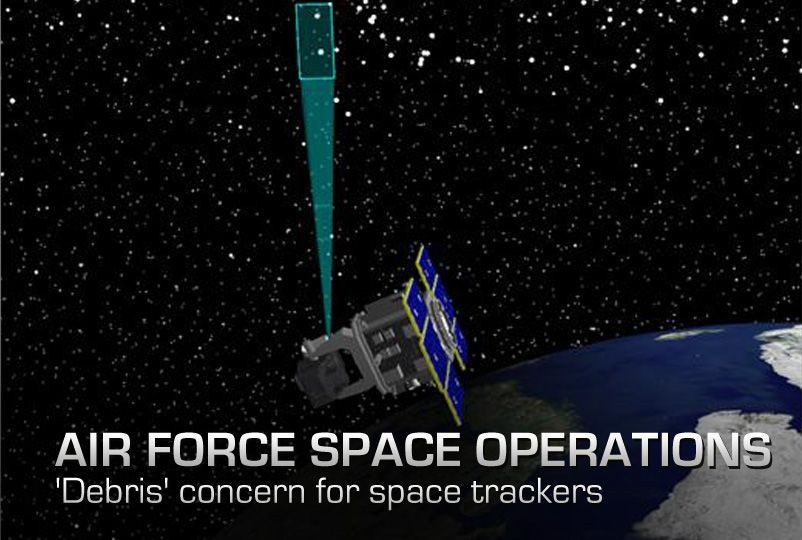 Space junk growing issue for Airforce space operations