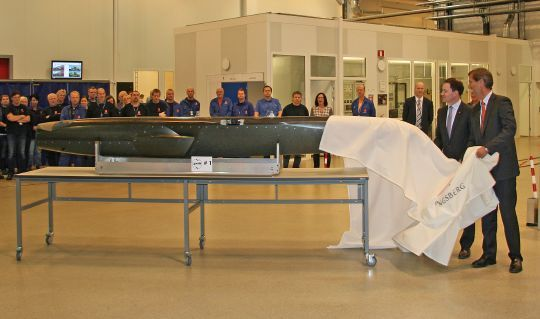 First JSM Fuselage Unveiled, Signalling Development Milestone