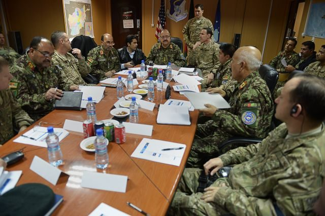 Afghan AF, NATO Air Training Command S...