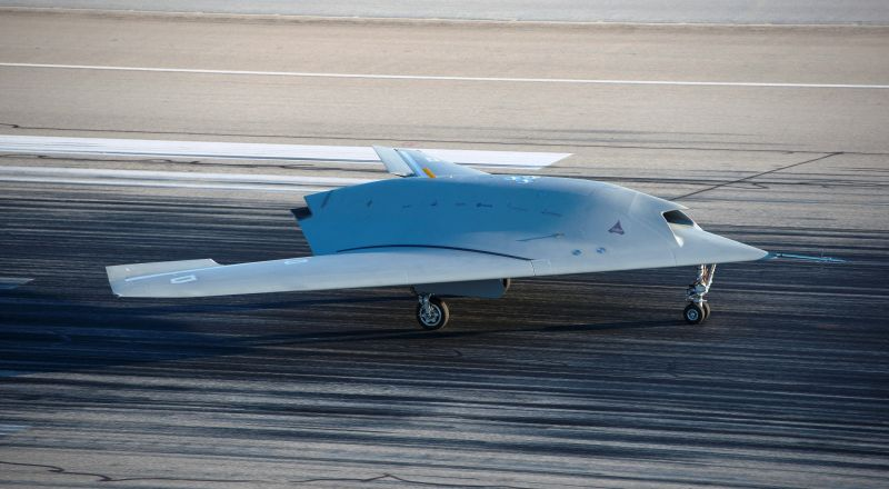 Prototype of European combat drone mak...