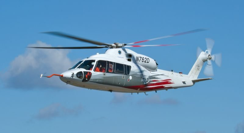 NGC Provides Attitude Heading Reference For Sikorsky's S-76D Helicopter