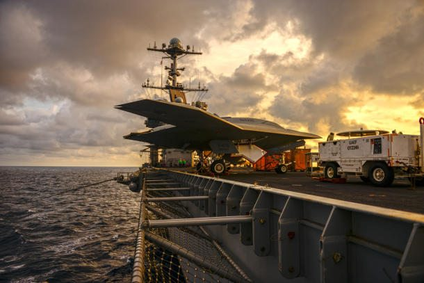 US Navy Takes First Steps Into the Wor...