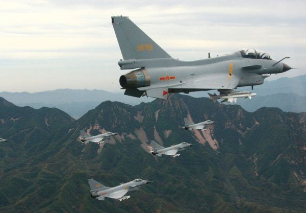 China Maps Out Its First Air Defense I...