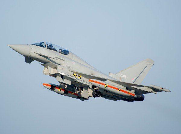 First Eurofighter Typhoon Meteor Firin...