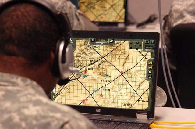 Simulation teaches collection asset management, situational order of battle, symbology analysis