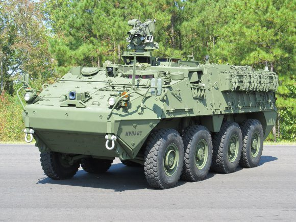 Stryker 'double v-hull' proven success