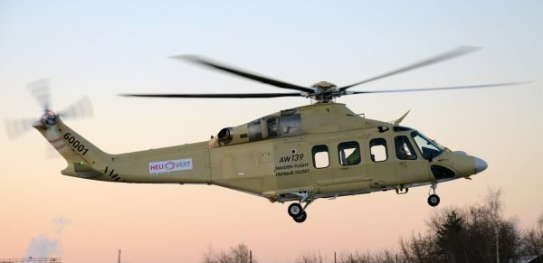Russia to Buy 7 AW139 Helicopters