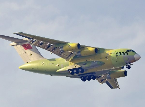 China's Y-20 Large Transport Aircraft ...