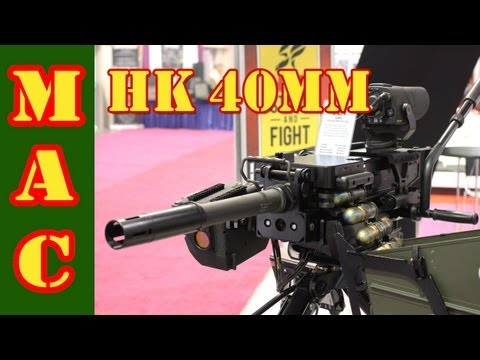 HK 40mm Grenade Launcher – SHOT Show 2013