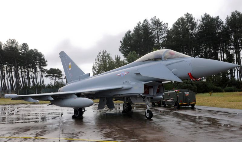 RAF Squadron Takes Delivery of 100th E...