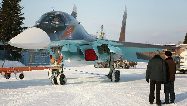 Sukhoi Delivers 5 Su-34 Bombers to Rus...