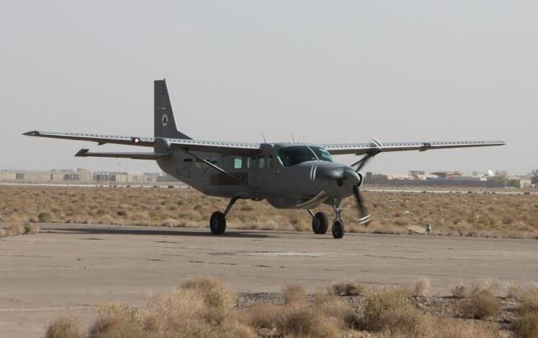Afghan air force advances battlefield support tactics