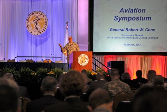 TRADOC sees role of Army aviation growing while force downsizes