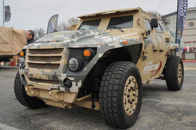 Army displays future of ground-vehicle...