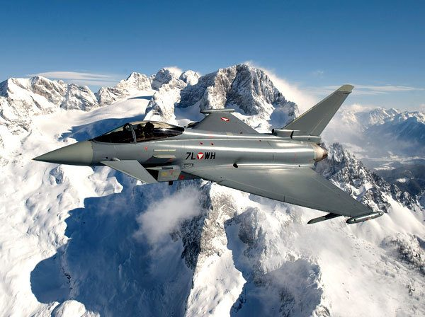 Eurofighter to Secure Airspace During World Economic Forum
