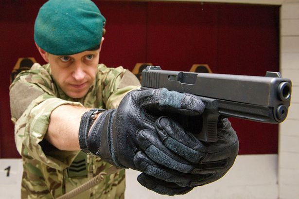 Glock Pistols for British Armed Forces