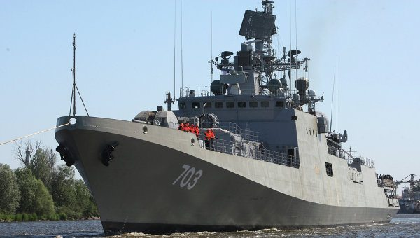 India Receives Second Russia-Built Stealth Missile Frigate