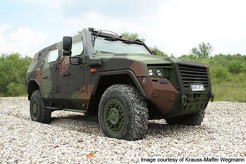Rheinmetall Exhibits AMPV at IDEX
