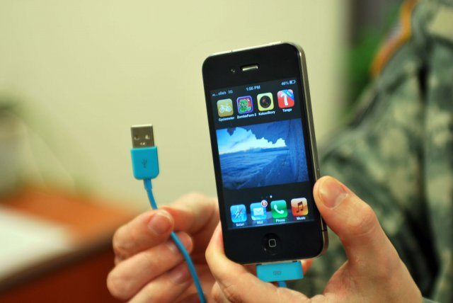 Smart phone charging increases cyber t...