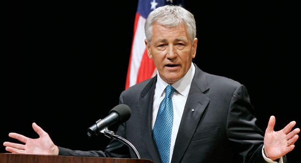 Hagel Issues Message to Defense Depart...