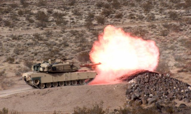 Army developing new 120mm AMP tank rou...