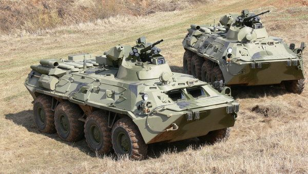 Russia Tests New Amphibious Armored Ve...