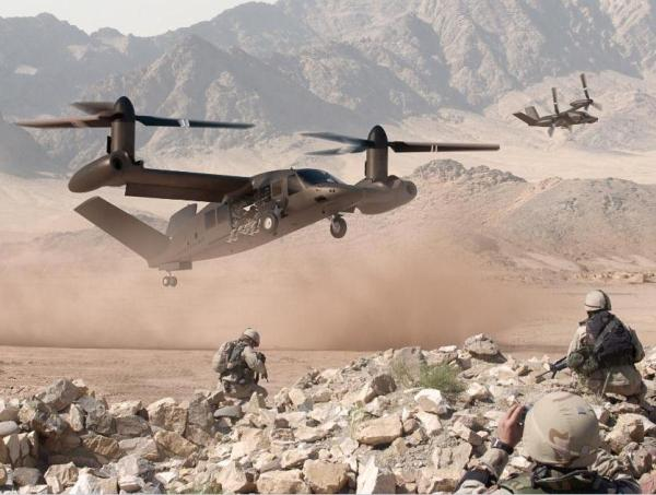 Bell Helicopter Introduces the Bell V-...