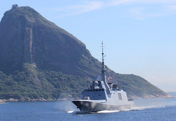 DCNS Pursues Sea Trials with FREMM Fri...