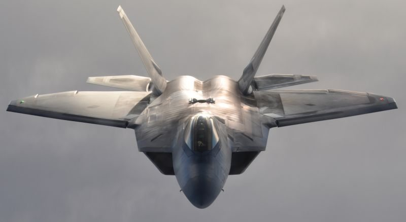 First Combat Deployable F-22s Arrive At Tyndall Air Force Base