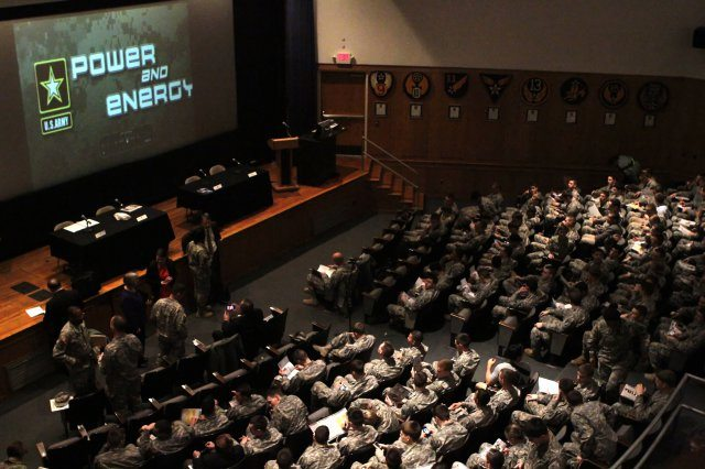 Army energy summit at West Point focus...