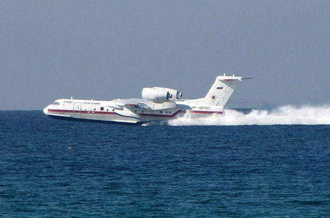 Russian Military Orders 6 Be-200 Amphibious